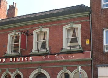 Thumbnail Studio to rent in Flat 3 Bishops Blaise, 114 Friar Gate, Derby