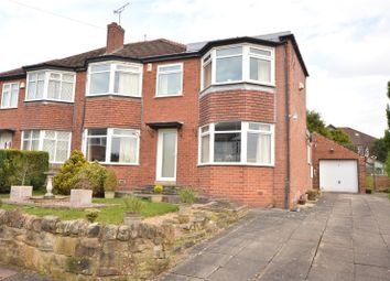 Thumbnail 3 bed semi-detached house for sale in Quarry Gardens, Leeds, West Yorkshire