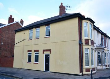 Thumbnail 2 bedroom end terrace house for sale in Kent Road, Blackpool