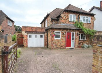 Thumbnail 3 bed detached house for sale in Connaught Road, Fleet, Hampshire