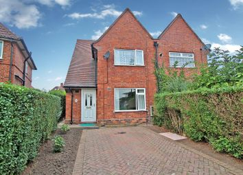 Thumbnail 3 bed semi-detached house for sale in Findern Green, Nottingham