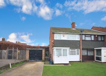 Thumbnail 3 bed end terrace house for sale in Channel Close, Heston
