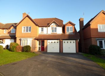 Thumbnail 5 bed detached house to rent in Tawny Way, Littleover, Derby