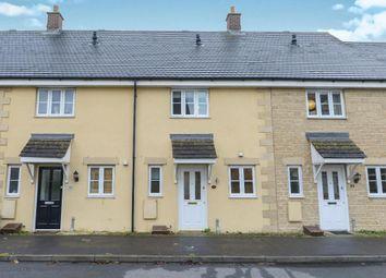 Thumbnail 2 bed terraced house to rent in Saffron Crescent, Shilton Park, Carterton, Oxon