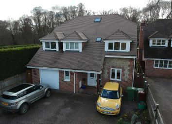 Thumbnail 6 bed detached house for sale in Baughurst Road, Baughurst, Tadley