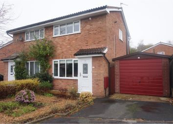 Thumbnail 2 bed semi-detached house for sale in Clarendon Close, Runcorn