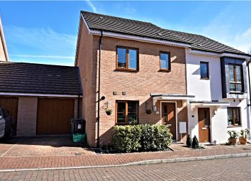 Thumbnail 3 bedroom semi-detached house for sale in Downside Close, Basingstoke