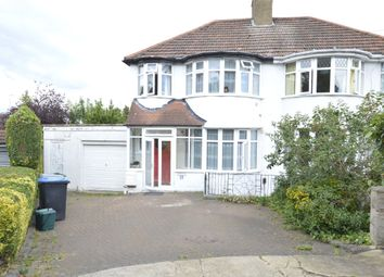 Thumbnail 3 bedroom semi-detached house for sale in Summit Close, London