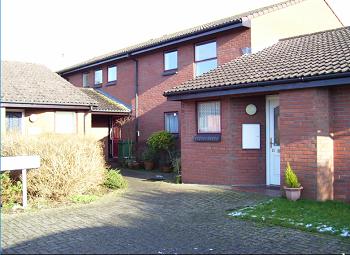 Thumbnail 1 bedroom flat to rent in 9 Martigny Court, Melksham, Wiltshire