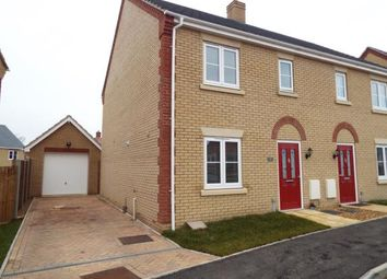 Thumbnail 3 bedroom semi-detached house for sale in Downham Market, Kings Lynn, Norfolk
