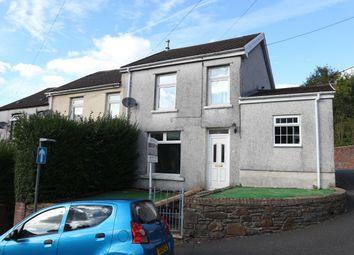 Thumbnail 3 bed end terrace house for sale in Tyntaldwyn Road, Troedyrhiw, Merthyr Tydfil