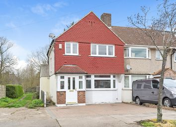 Thumbnail 3 bed end terrace house for sale in Norfolk Crescent, Sidcup