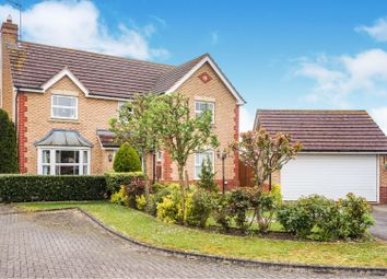 Thumbnail 4 bed detached house for sale in Ark Royal Court, Sleaford