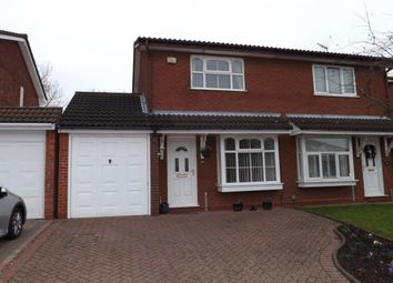 Thumbnail 2 bed semi-detached house for sale in Whittleford Grove, Castle Bromwich, Birmingham
