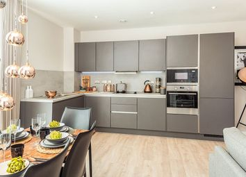 "Thumbnail 3 bed flat for sale in ""Blue House"" at Station Parade, Green Street, London"