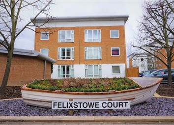 Thumbnail 3 bed flat for sale in Felixstowe Court, London