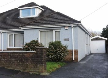 Thumbnail 3 bed semi-detached bungalow for sale in Llanllienwen Close, Ynysforgan, Swansea