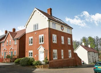 Thumbnail 4 bed detached house for sale in Woodbury Lane, Salisbury