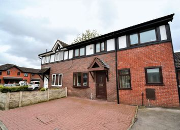 Thumbnail 4 bed semi-detached house for sale in Aegean Gardens, Salford
