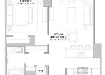 Thumbnail 1 bed property for sale in 121 East 22nd Street, New York, New York State, United States Of America