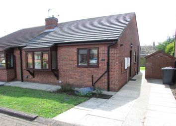 Thumbnail 2 bed bungalow to rent in Hall View, Messingham, Scunthorpe
