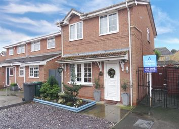 Thumbnail 3 bed detached house for sale in Woodmans Croft, Hatton, Derby