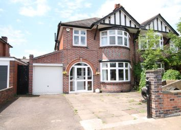 Thumbnail 3 bedroom semi-detached house for sale in Craighill Road, Knighton, Leicester
