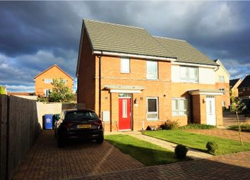 Thumbnail 3 bed semi-detached house for sale in Piper Court, Newcastle Upon Tyne