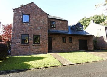 Thumbnail 4 bed detached house for sale in The Dell, Broadwath, Heads Nook, Brampton