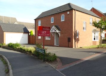 Thumbnail 3 bed detached house to rent in Middlewood Close, Solihull