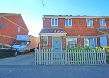 Thumbnail 2 bed semi-detached house for sale in Foxmead Close, Enfield