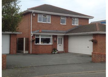 Thumbnail 4 bed detached house for sale in Bryn Estyn Road, Wrexham