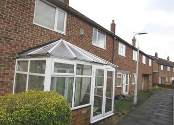 Thumbnail 3 bed terraced house for sale in Fairview Close, Prenton