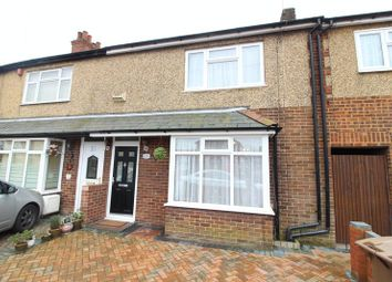 Thumbnail 3 bed terraced house to rent in Limbury Road, Luton