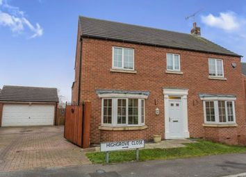 Thumbnail 4 bed detached house for sale in Highgrove Close, Newbold, Chesterfield, Derbyshire