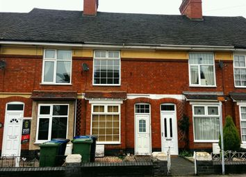 Thumbnail 3 bed terraced house to rent in St. Johns Street, Tamworth