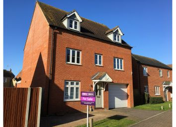 Thumbnail 5 bedroom detached house for sale in Finbracks, Stevenage