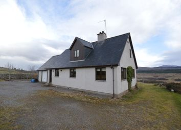 Thumbnail 3 bed detached house to rent in Altass, Lairg, Sutherland