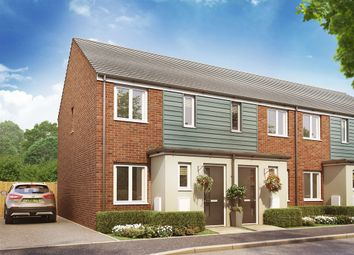 "Thumbnail 2 bedroom terraced house for sale in ""The Alnwick "" at Christie Drive, Hinchingbrooke Park Road, Huntingdon"