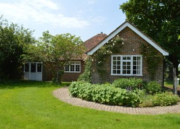 Thumbnail 3 bed detached bungalow to rent in Lingfield Lodge Farm, Moor Lane, Marsh Green, Edenbridge
