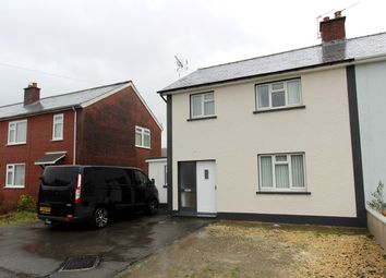 Thumbnail 3 bed semi-detached house for sale in Maesyfelin, Lampeter