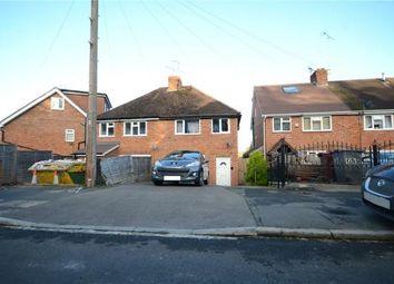 Thumbnail 3 bedroom semi-detached house for sale in Thirlmere Avenue, Tilehurst, Reading