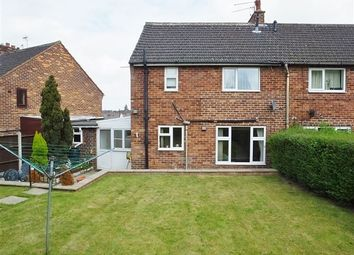 Thumbnail 3 bedroom end terrace house for sale in Fane Crescent, Sheffield