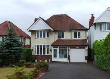 Thumbnail 4 bed detached house for sale in Foley Road West, Streetly, Sutton Coldfield