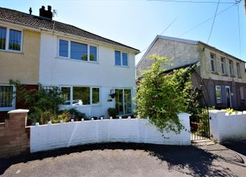 Thumbnail 3 bed semi-detached house for sale in Main Road, Cross Inn, Pontyclun