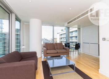 Thumbnail 2 bed flat to rent in The Landmark West Tower, 22 Marsh Wall, Docklands, London