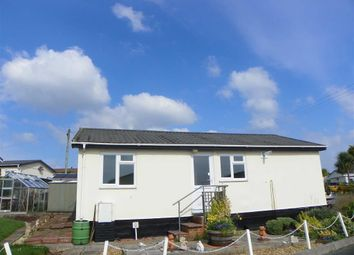 Thumbnail 2 bed mobile/park home for sale in Hill Farm Park, Pembroke Dock