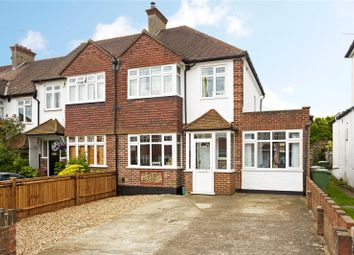 Thumbnail 4 bed semi-detached house for sale in Yew Tree Gardens, Epsom, Surrey