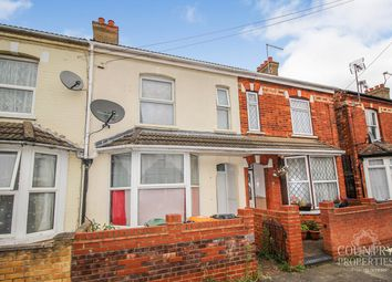Thumbnail 3 bed terraced house to rent in Firbank Road, Bedford