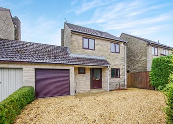 Thumbnail 4 bed link-detached house to rent in Hibbs Close, Marshfield, Chippenham